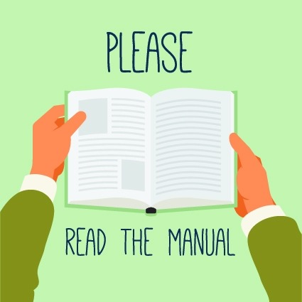 Please read the manual