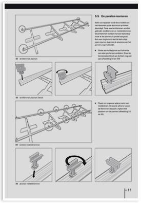 Illustration in an installation manual.