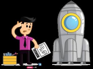 Illustratie die het belang van Simplified Technical English (STE) aangeeft.